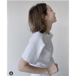 ドゥロワー(Drawer)のdrawer 2019SS カットソー 翁安芸さん愛用(Tシャツ(半袖/袖なし))