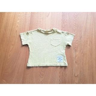 シマムラ(しまむら)の90サイズ 黄色半袖シャツ(Tシャツ/カットソー)