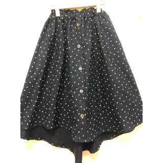 マザウェイズ(motherways)の新品 水玉 スカート 150センチ(スカート)