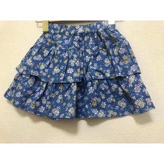 マザウェイズ(motherways)の新品 マザウェイズ お花柄のスカート 97cm(スカート)