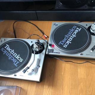 テクニクス ターンテーブル 2台セット SL1200-MK3D(ターンテーブル)