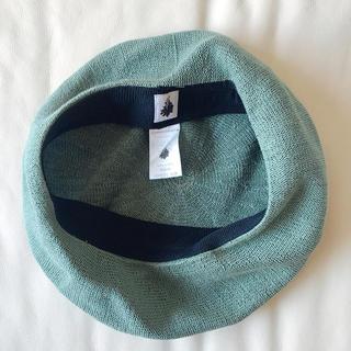 カオリノモリ - 【カオリノモリ】サイズ調整可能☆サマーベレー帽