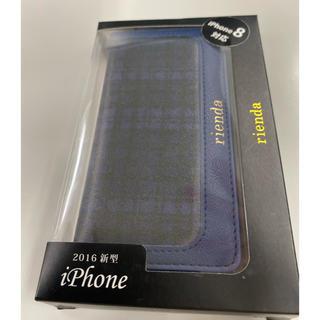 リエンダ(rienda)のrienda iPhone7 iPhone8/SE第2世代用手帳ケース(iPhoneケース)