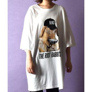 ミルクボーイ(MILKBOY)のMILKBOY FAT BUNNY Tシャツ 新品タグ付(Tシャツ/カットソー(半袖/袖なし))