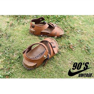 ビルケンシュトック(BIRKENSTOCK)の完売品 TATAMI 本革 comfort sandal 16cm(サンダル)
