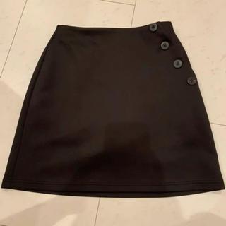 エモダ(EMODA)のEMODA エモダ デザインボタンスカート S スカパン ショートパンツ(ミニスカート)