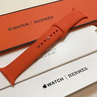 アップルウォッチ(Apple Watch)のApple Watch HERMES 純正スポーツバンド 40mm(その他)