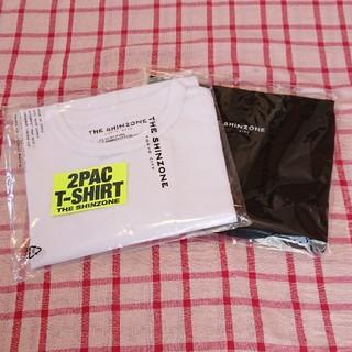 Shinzone - 【新品】SHINZONE Tシャツ 2PAC T-SHIRTS 白黒セット