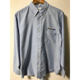 インディヴィジュアライズドシャツ(INDIVIDUALIZED SHIRTS)のデッドストック アメリカ製 オックスフォードボタンダウンシャツ 企業物(シャツ)
