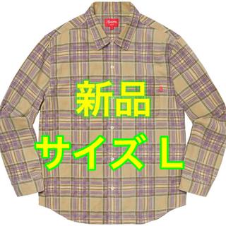 シュプリーム(Supreme)のSupreme 20ss Printed Plaid Shirt ネルシャツ(シャツ)