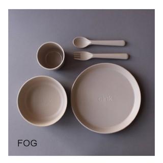 キャラメルベビー&チャイルド(Caramel baby&child )のcink(サンク) 子供用食器セット トドラーギフトセット 北欧 fog(プレート/茶碗)