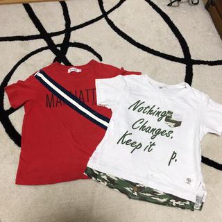 サンカンシオン(3can4on)のTシャツ120サイズ 2枚セット(Tシャツ/カットソー)