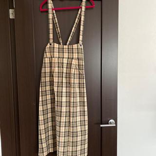 チェックジャンパースカート(その他)