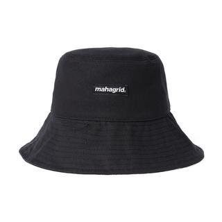mahagrid ハット BASIC LOGO BUCKE HAT  BLACK