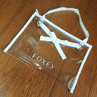フォクシー(FOXEY)のFOXEY 《Contrail.C》PVCバッグ(その他)