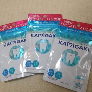 SUNSTAR - 3袋 KAMIGAKI カミガキ マウスウォッシュタブレット フォレストミント