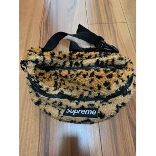シュプリーム(Supreme)のSupreme Leopard Fleece Waist Bag 17AW(ボディーバッグ)