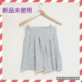 【新品未使用♡marvelous】フロントプリーツフレアミニスカート(ミニスカート)
