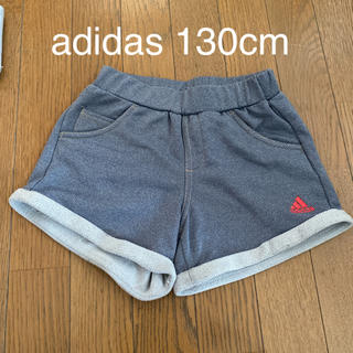 adidas - adidas ジャージ ショートパンツ 130cm