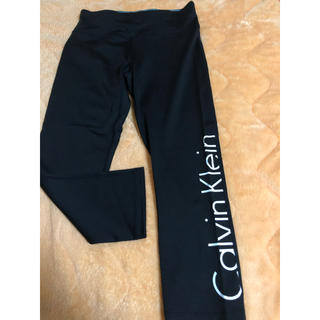 Calvin Klein - カルバンクライン スポーツウェア レギンス スパッツ 黒