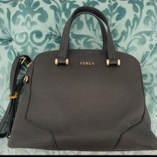 Furla - 【確実正規品】フルラ  ハンドバッグ 黒 鞄 ショルダー ブラック アーチ