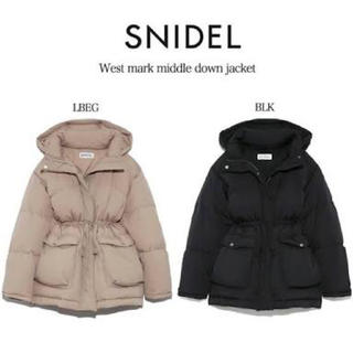 snidel - ウエストマークミドルダウン snidel