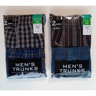 トランクス 2セット 2組 計4枚 LL 洋服の青山 新品未開封(トランクス)