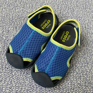 crocs - crocs 子供サンダル 14cm
