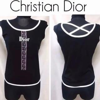 クリスチャンディオール(Christian Dior)の入手困難 ディオール トロッター デザイン タンクトップ(タンクトップ)