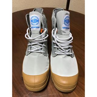 パラディウム(PALLADIUM)のPALLADIUM レインブーツ グレー 27.0 未使用(長靴/レインシューズ)