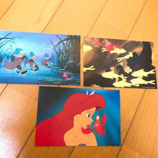 ディズニー(Disney)のリトルマーメイド ポストカード(写真/ポストカード)