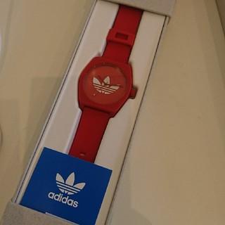 adidas - 早い者勝ち 24日迄限定価格 adidas レッド ウォッチ 腕時計