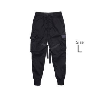 ザラ(ZARA)のCargo pants メンズ カーゴ ジョガー L(ワークパンツ/カーゴパンツ)