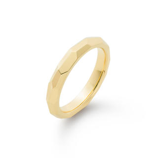 アーカー(AHKAH)の530park 3mm Crystal Facet Round-M Ring (リング(指輪))