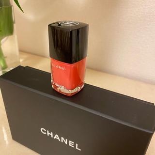 シャネル(CHANEL)のCHANEL 544  HYPER ROSE GLASS(マニキュア)