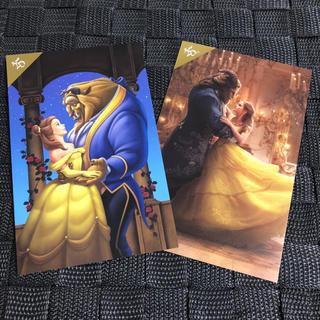 ディズニー(Disney)のポストカード / 美女と野獣(写真/ポストカード)