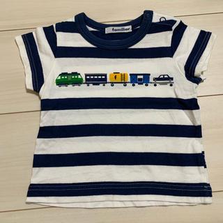 ファミリア 80 Tシャツ 男の子 夏服 半袖 familiar