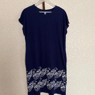 グラニフ(Design Tshirts Store graniph)の【グラニフ】Tシャツワンピース チュニック(ひざ丈ワンピース)