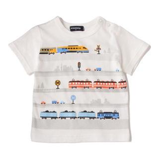 kladskap - クレードスコープ半袖Tシャツ 電車