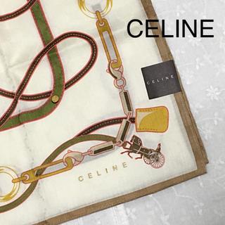 セフィーヌ(CEFINE)のCELINE セリーヌ 大判ハンカチ   ★新品•未使用★(ハンカチ)
