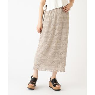 mystic - mystic  レースタイトスカート