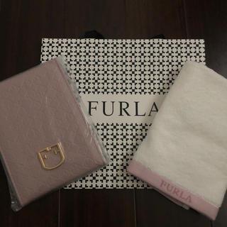 フルラ(Furla)のフルラ ウォッシュタオル&ミラー(タオル/バス用品)