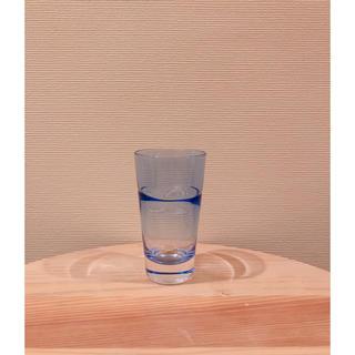 スガハラ(Sghr)のミニグラス 食前酒 ショットグラス ブルー 無印 scope イデー イッタラ(グラス/カップ)