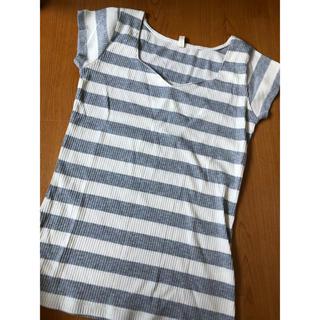 ロイヤルパーティー(ROYAL PARTY)のボーダーTシャツ(Tシャツ(半袖/袖なし))