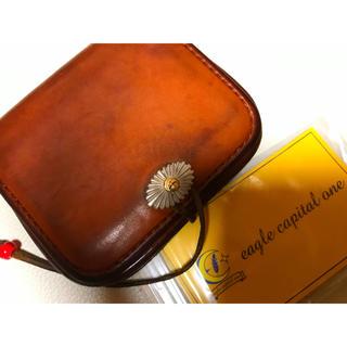 ゴローズ(goro's)のゴローズ   コンチョ 小銭ケース OLD   財布 赤茶 廃盤 激レア(コインケース/小銭入れ)