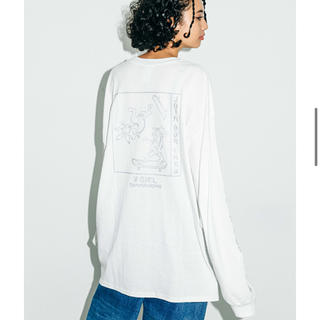 X-girl - xgirl CHOUJU GIGA LS BIG TEE DRESS