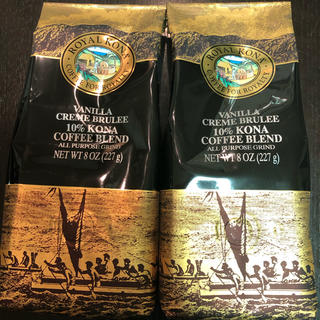 即発送可能♡ロイヤルコナ バニラクレームブリュレ2袋(コーヒー)