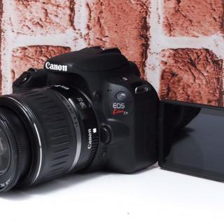 キヤノン(Canon)の★美品★Canon kiss x9 ブラック レンズセット(デジタル一眼)