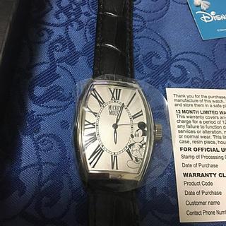 ディズニー(Disney)のディズニー創立90周年記念200個限定自動巻きミッキーマウスダイヤル未使用品(腕時計(アナログ))