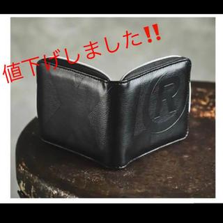 エクストララージ(XLARGE)のラウンドジップ型レザー財布&ポータブル将棋セット(折り財布)